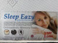 Sleep Eazy Single 3ft Mattress For Sale - Orthopaedic Memory