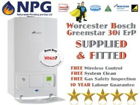 Worcester Bosch Greenstar 30i New ErP Combi *SUPPLIED & FITTED* *Which Awards 2017* *Birmingham*