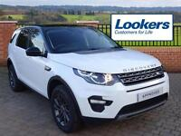 Land Rover Discovery Sport TD4 SE TECH (white) 2016-09-19