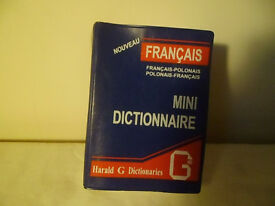 FRENCH - POLISH -FRENCH DICTIONARY.
