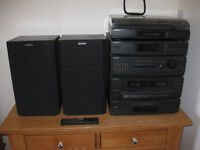Sony Stereo System Compact Disc Deck Receiver