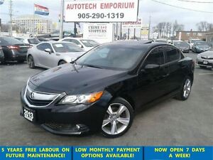 2013 Acura ILX Premium Leather/Sunroof/Camera&ABS