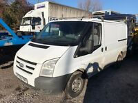 FORD TRANSIT T260 SWB 59REG SPARES OR REPAIR FOR SALE