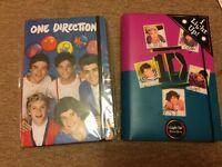 2x one direction notebooks