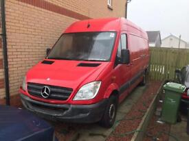 Mercedes sprinter lwb 2009 spare and repair ( Read add please before text or call )