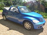 Chrysler PT Cruiser Convertible, Auto, LPG Converted.