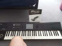 Korg m50 keyboard for sale, great condition, comes with power cable and instruction book.