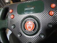 Jaguar racing wheel and peddles