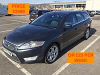 2007 FORD MONDEO TITANIUM X ESTATE / NEW MOT / PX WELCOME / LEATHER / FIANANCE / WE DELIVER