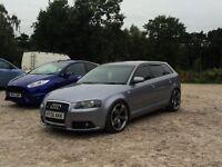 Audi a3 sportback sline dsg paddle shift