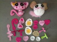 LaLaLoopsy Switch-a-Roo Pets   Cat and Mouse   Perfect Condition