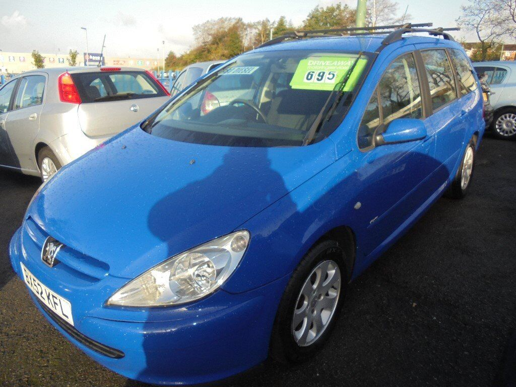 peugeot 307 rapier 1997cc hdi turbo diesel 5 door estate 2002 52 blue in llansamlet swansea. Black Bedroom Furniture Sets. Home Design Ideas