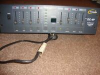 TRANSCENSION Show Control DC-4P 4 Channel Dimming Rack