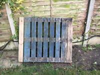Blue pallet -free to collect