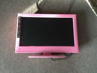 Pink to/DVD combi spares or repairs