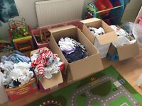 Bundles of boys baby clothes-huge amount