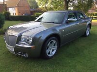 2008/57plate Chrysler 300c crd automatic 3.0 v6 diesel in grey
