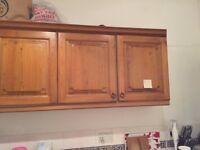 Good quality pure teak wood wooden cabinets and granite worktop at very cheap prices