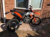 Ktm exc 450 2008 road reg enduro motocross not crf Yzf 250