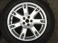 "1 X GENUINE RANGE ROVER EVOQUE 18"" ALLOY WHEEL. 5X108PCD 3 WHEELS AVAILABLE"
