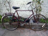 Vintage Dutch Gazzelle Singlespeed bike