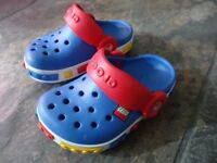 Lego Crocs Shoes, size 4-5