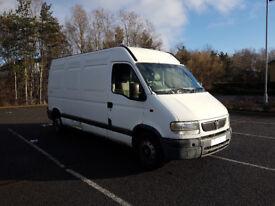 Deposit taken 2003 Vauxhall Movano (Renault Master) LWB 2.8DTi