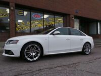 2010 Audi A4 2.0T *S-LINE*19ALLOYS*6-SPD MANUAL*