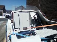 Greyline 538 fishing boat 18ft long with trailer