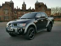 2006 MITSUBISHI L200 2.5 DI-D AUTOMATIC ELEGANCE TURBO DIESEL 4X4 DOUBLE CAB TOP SPEC FULLY LOADED