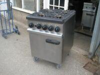 Lincat OG7001/N heavy duty gas cooker oven catering commercial.