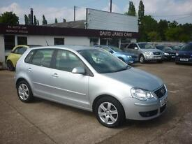 VOLKSWAGEN POLO 1.2 Match 70 5dr (silver) 2009