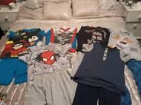Boys pyjamas bundle, age 7-8