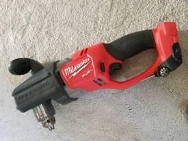 Hole Hawg Milwaukee M18 Right angle drill 18v (body only)