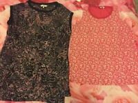 2 x Next tops size 8 and 10