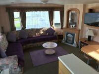 lovely 3 bedroom caravan to let trecco bay