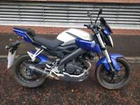 Yamaha MT125 ABS *very low miles*