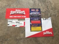 X2 Alton Towers tickets for sale 28/09/18