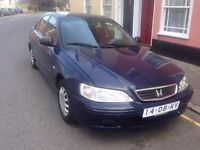 NEAT LEFT HAND DRIVE HONDA ACCORD SALOON CAR,DRIVES EXCELLENTLY, EXPORT PAPERS SORTED, FREE DELIVERY