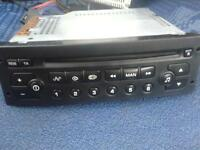 cd player standard peugeot citroen c2 206 307 ect not sub amp speakers radio ect