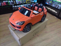 PORCHE 4X4 KIDS ELECTRIC RIDE ON CARE BRAND NEW