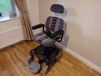 Shoprider Nippy, electric wheelchair with new batteries and battery charger. VGC