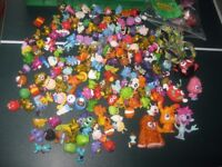 Moshi Monsters Lot - contains 151 characters + 25 gold characters + 2 x Moshling Zoos + other stuff