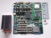 Fujitsu Siemens D2530 Server Motherboard Bundle (CPU, RAM, Heatsink)