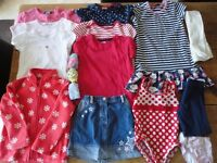 3-4 Years Girls Summer Clothes Bundle (14 items) Set B