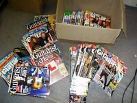 GUITAR MAGS JOB LOT - SOME WITH CDs