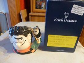 royal doulton dennis the menace & gnasher jug boxed