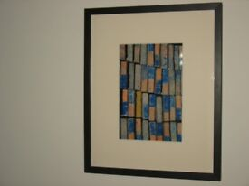 glass framed picture