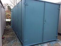 21ft x8ft Anti Vandal Site Office / Store/ Portable Building/ Half Store/ Half Office /-- 2500 +VAT