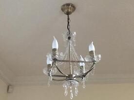 Two Matching Chandeliers